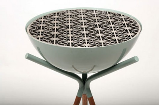 This barbecue by Barcelona designers Mermeladaestudio will char your food with geometric patterns.