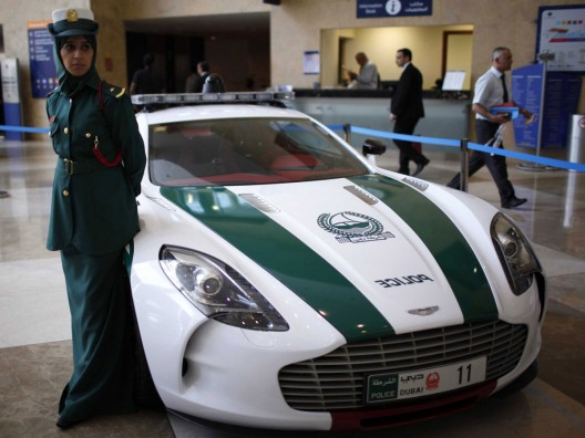 Dubai Police's Aston Martin One-77