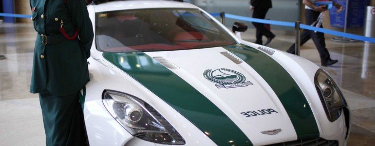 Aston Martin One 77, Mercedes SLS and Bentley Continental GT Coupe Join the Dubai Police