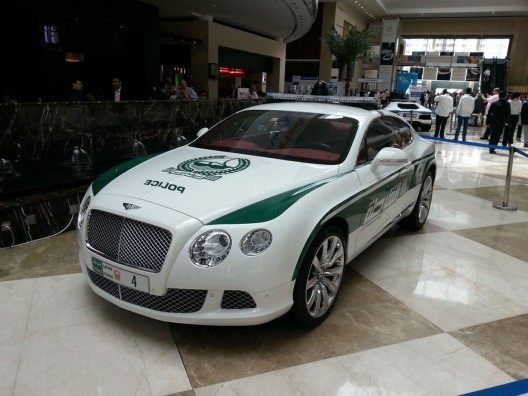 Dubai Police's Bentley Continental GT