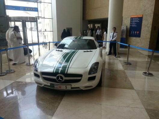 Dubai Police's Mercedes SLS AMG