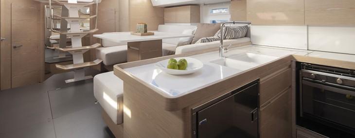 Elan Yachts' 494 Impression Sailing Yacht