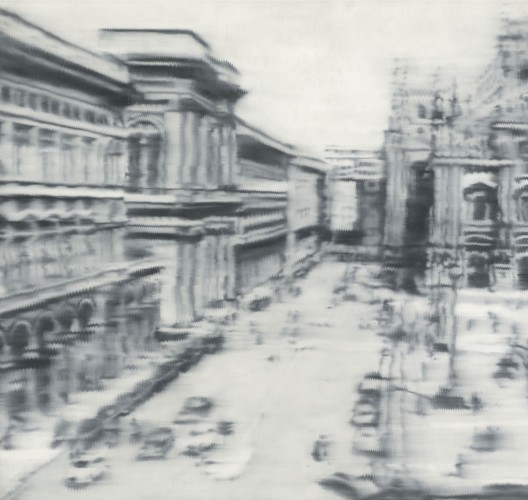 Gerhard Richter's Domplatz, Mailand - Cathedral Square, Milan