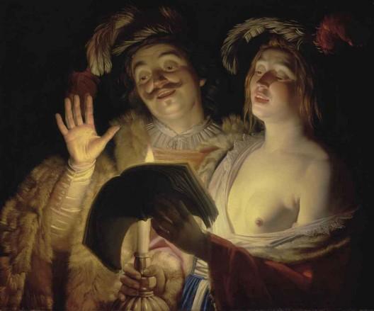 The Duet by Gerrit van Honthorst