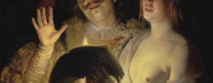 The Duet by Gerrit van Honthorst