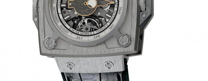 "The ""Antikythera SunMoon"" watch, featuring highly precise Sun and Moon indicators, celebrates the ""Tribute to the Antikythera Mechanism"","