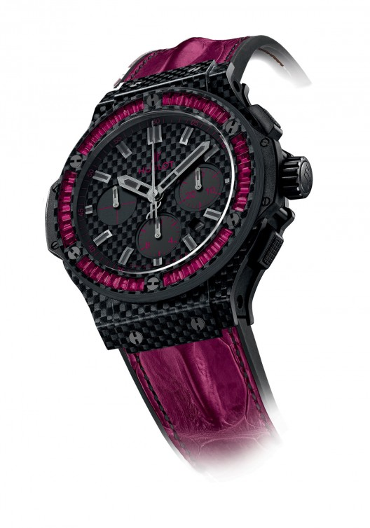 Hublot Big Bang Carbon Bezel Baguette