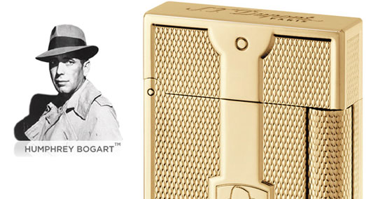 Humphrey Bogart Lighter Gold Edition by S.T.Dupont