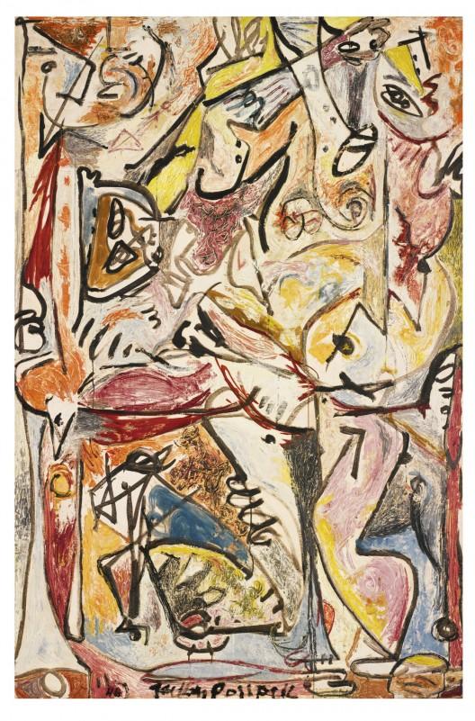 Jackson Pollock's Blue Unconscious