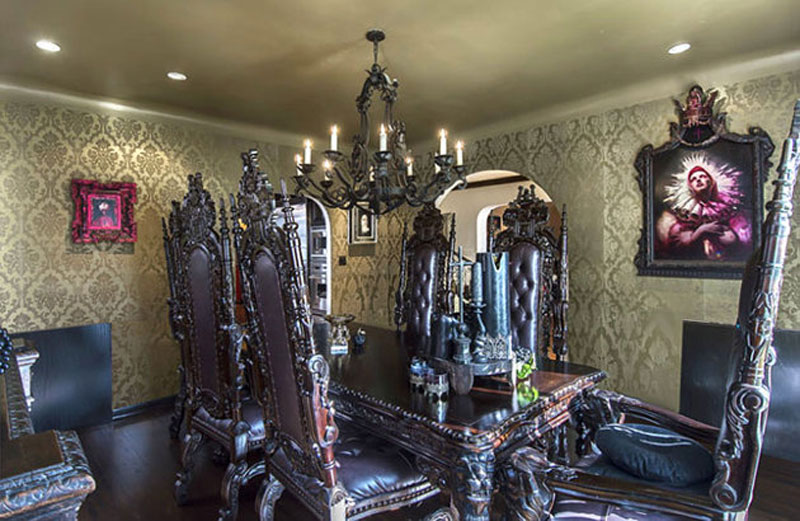 Kat Von D Is Selling Her Gothic Hollywood Hills Mansion
