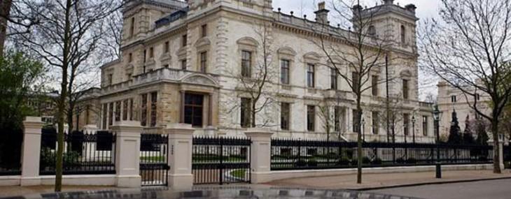 Lakshmi Mittal's Palace Green Property