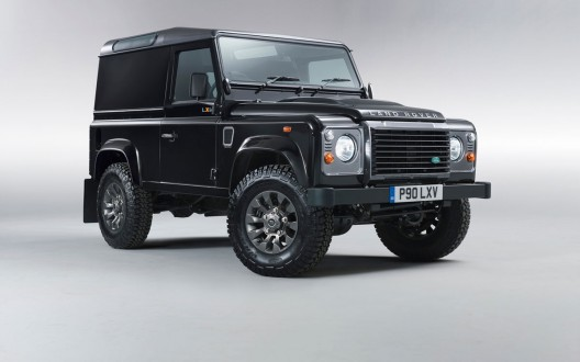 Land Rover introduces the LXV Special Edition of its Defender model for the 65th anniversary of the SUV