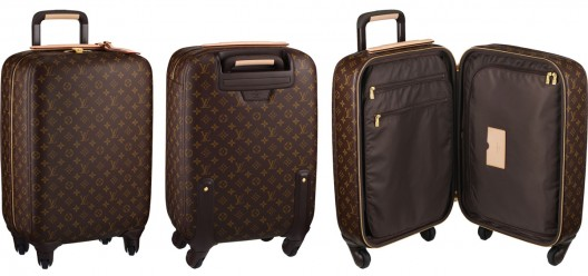 If you need a new elegant suitcase for your fab vacation outfits, then you should take a look at the Zephyr 55 model from LV
