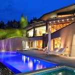 $24.8 Million Oceanfront Modern Contemporary Masterpiece in West Vancouver