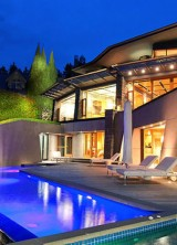 A Modern Contemporary Masterpiece on the Waterfront in West Vancouver Offered at $24.8 Million