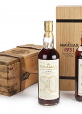 A 50 Years Old Bottle Of Macallan Scotch Sold For $40.460