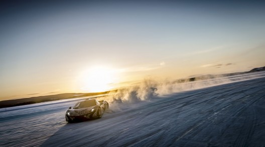 McLaren P1 Winter Testing in Sweden