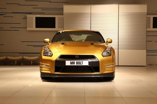 Nissan GT-R by Usain Bolt