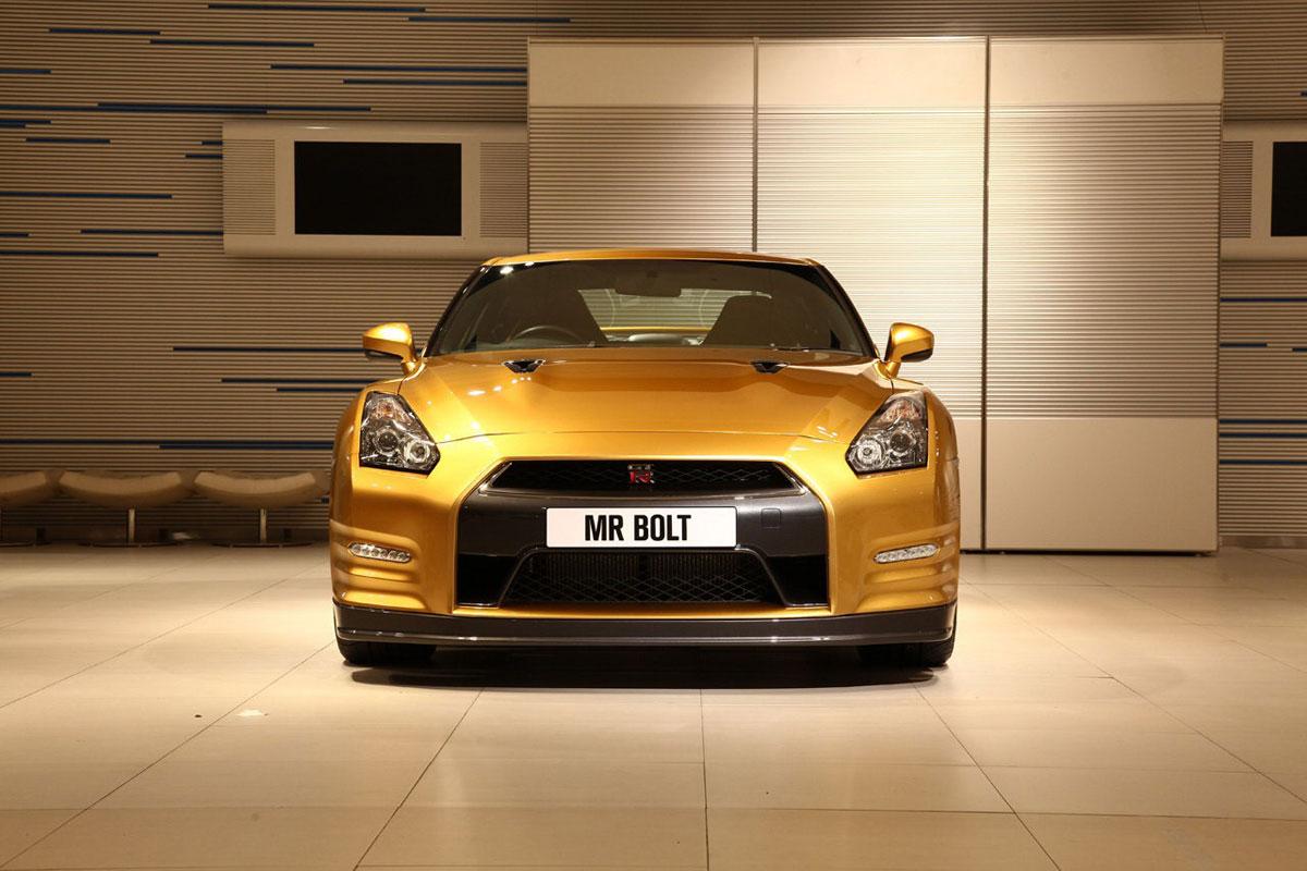 Nissan Gt R For Usain Bolt Extravaganzi