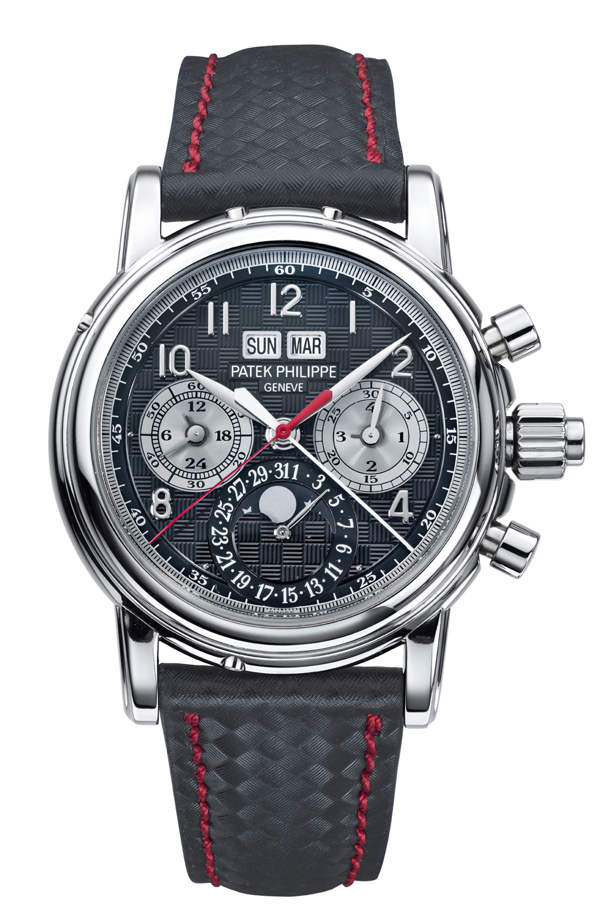 Patek Philippe Pp 5205 R Rosegold Black Dial Annual: Patek Philippe Titanium 5004T For Only Watch 2013 Charity
