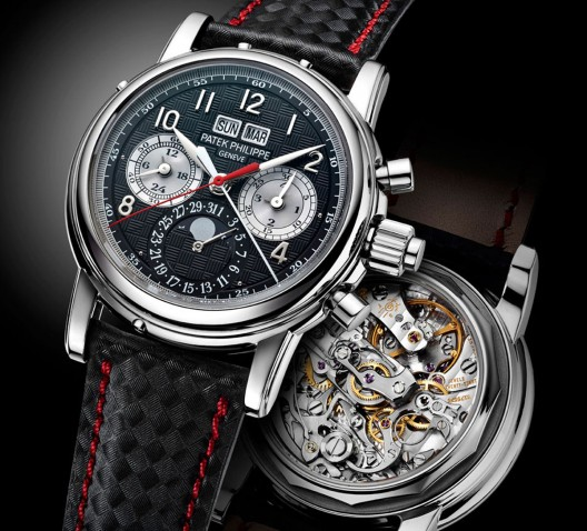 Patek Philippe Creates Unique 5004 Split-Seconds Perpetual Calendar In Titanium For Only Watch 2013