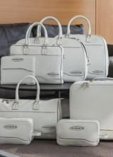 Pershing Yachts and Poltrona Frau Leather Luggage