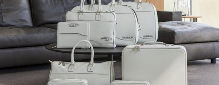 Pershing Yachts and Poltrona Frau Leather Luggage