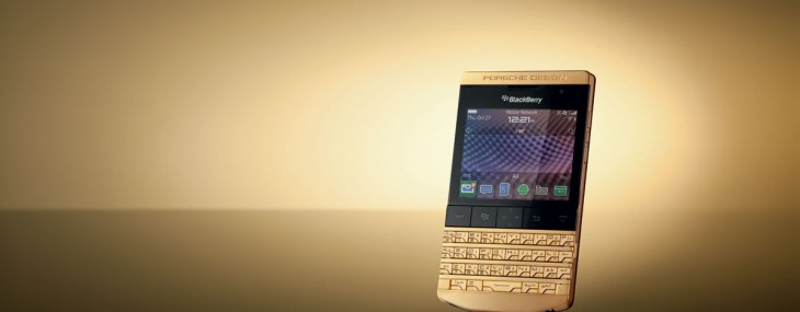 Porsche Design P'9981 BlackBerry Gold Edition