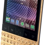 Gold BlackBerry P'9981 Smartphone From Porsche Design