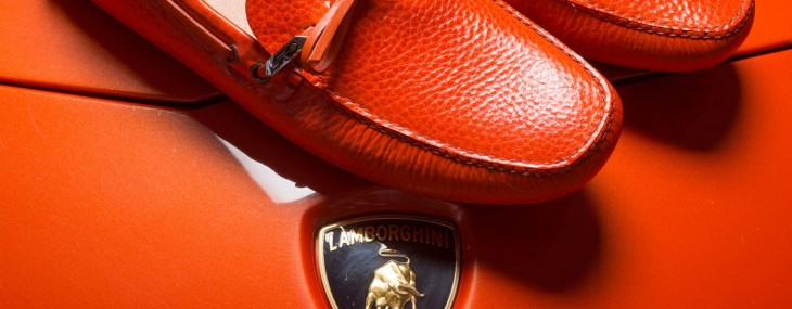 Celebrate Lamborghini's 50 Anniversary In Prada Shoes