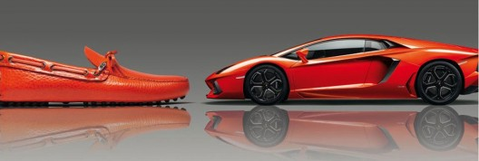 Prada Group Lamborghini driving shoe