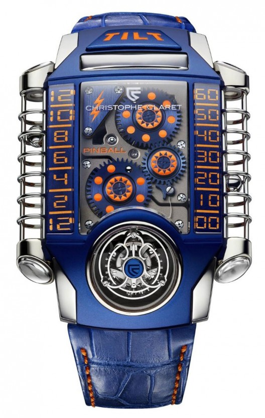 The Christophe Claret X-TREM-1 Pinball watch