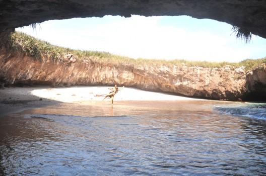 The Hidden Beach in Puerto Vallarta