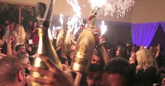 British Millionaire Spleshed Out £330,000 on Armand de Brignac Brut Gold Dynastie Collection of Champagne