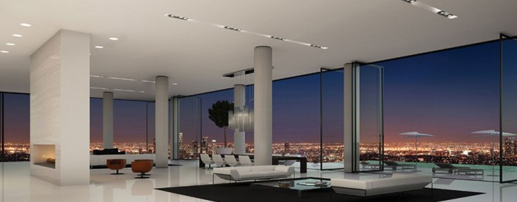 Buy a w hollywood penthouse for 45 million the simply for Penthouses for sale los angeles