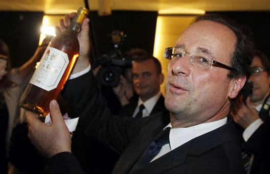 Wines from the French President's cellar are up for auction