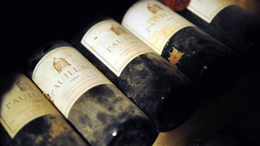 Wines from French Presidential Cellar