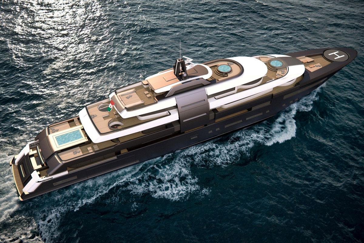 New 90m yacht concept by zuccon superyacht design for Yacht dekoration
