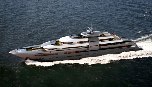 Zuccon SuperYacht Design presents its new project: a 90m M/Y,