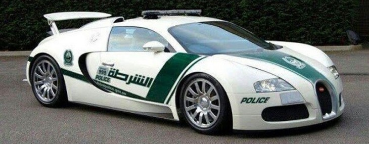 Bugatti Veyron Joins Dubai Police