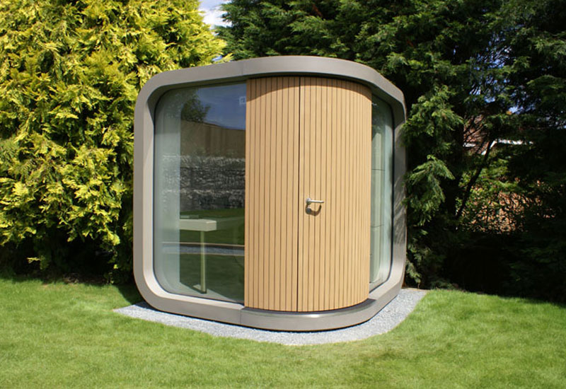 officepod home office in the garden