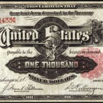 $1,000 Silver Certificate Sold for $2.6 Million – New World Record Price