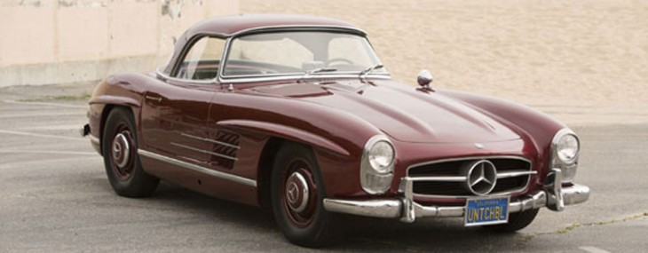 Auctions America Will Offer 1957 Mercedes-Benz 300SL Roadster