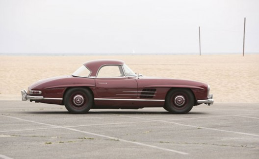 1957 Mercedes-Benz 300SL Roadster at auctions america