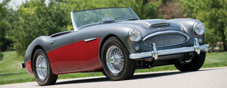 1961 Austin-Healey 3000 MK II Deluxe Roadster auctions america