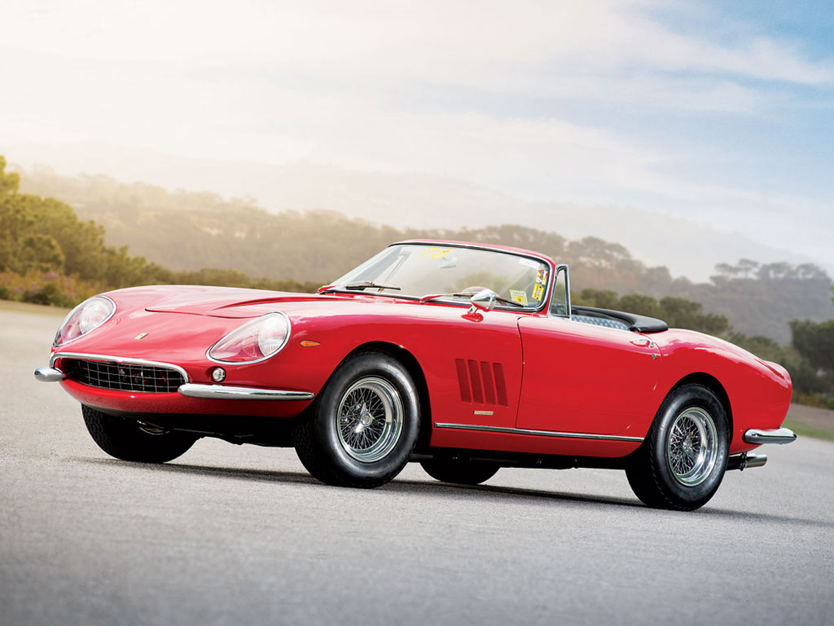 rare ferrari 275 gtb 4 n a r t spyder on rm auction extravaganzi. Black Bedroom Furniture Sets. Home Design Ideas