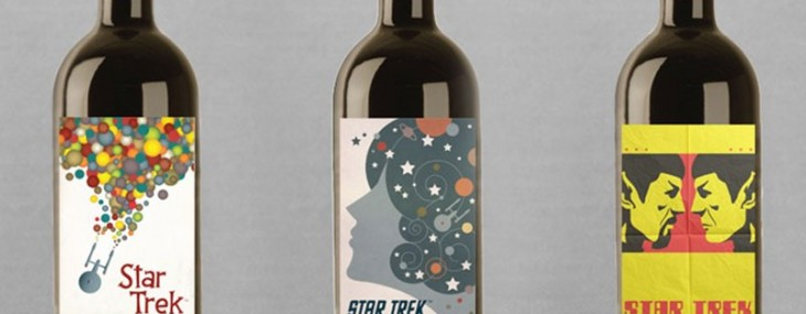 Star Trek, the wine, is a medium-bodied blend of Merlot, Sangiovese, Cabernet Franc, Dolcetto, Tinta Cao and Tempranillo that's sourced from Viansa Winery in Sonoma, California