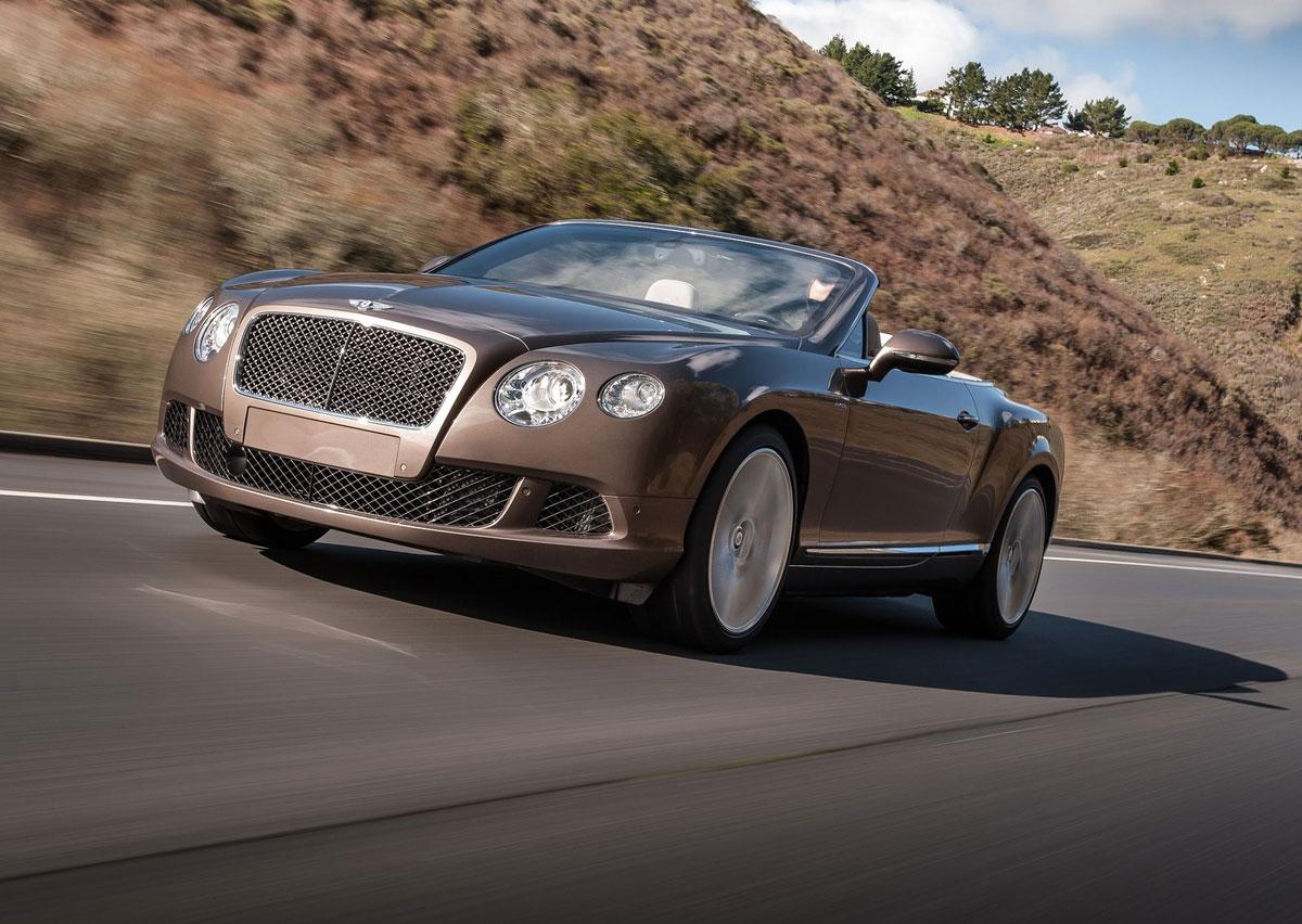 2013 Bentley Continental Gt Speed Convertible Extravaganzi