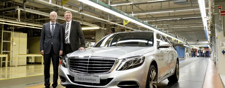 Started Production Of 2014 Mercedes-Benz S-Class