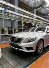2014 Mercedes-Benz S-Class enters production